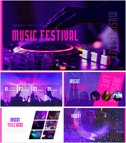 Music Festival PowerPoint Templates Design_00