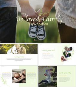 my Beloved Family Multipurpose Presentation Keynote Template_42 slides