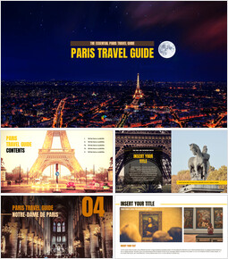 Paris Travel Guide Google PPT Templates_00
