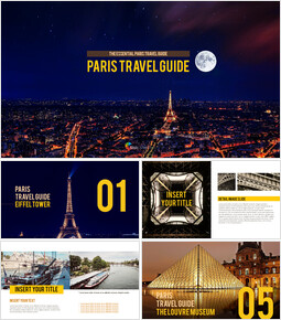 Paris Travel Guide Theme PT Templates_00