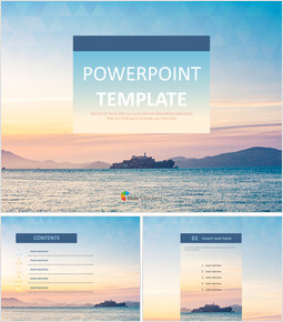 Pastel Sunset - Free Powerpoint Template_00