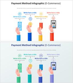 지불 방법 Infographic 다이어그램 (전자 상거래)_00