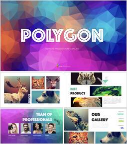 Polygon Multipurpose Presentation Keynote Template_25 slides