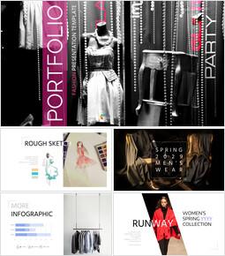 Portfolio : FASHION Google Slides Templates_00