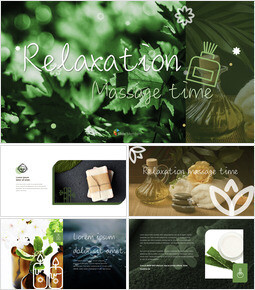 Relaxation Massage time Apple Keynote Template_00