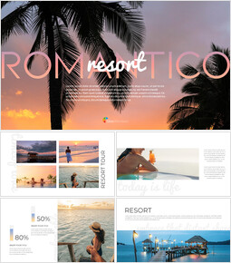 Romantico Resort Google Slides Template Design_00