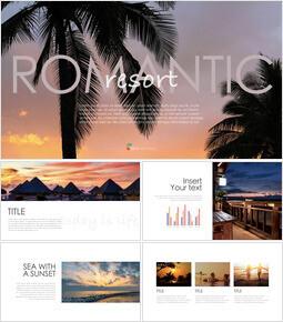 Romantico Resort Keynote Templates_40 slides