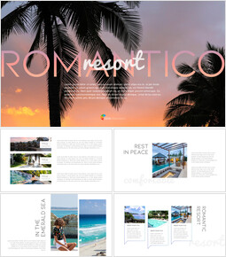 Romantico Resort Modelli di PowerPoint Design_00