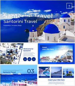 산토리니 여행 Google 프레젠테이션 슬라이드_00