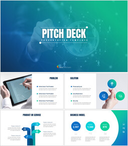 Simple Pitch Deck Template Google Slides_00