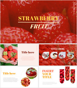 Strawberry Simple Google Slides Templates_00