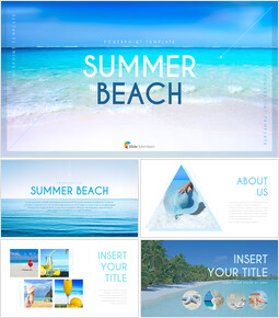 Summer Beach Presentation PowerPoint Templates Design_00