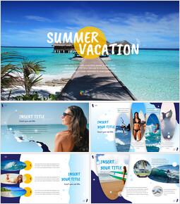 Summer Vacation Google Slides Template Design_00