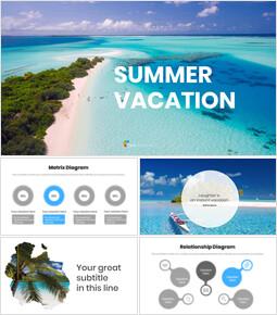 여름 방학 프레젠테이션용 Google 슬라이드 테마_00