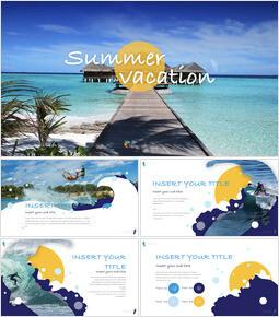 Summer Vacation Simple Keynote Template_00