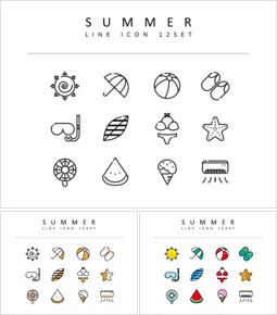 여름 디자이너를 위한 아이콘 리소스_00