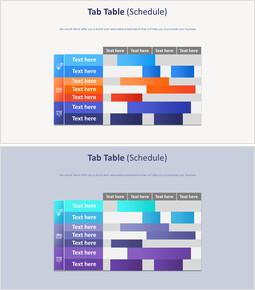 Tab Table Diagram (schedule)_2 slides