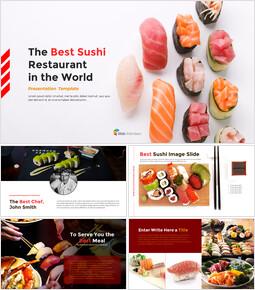 세계 최고의 스시 레스토랑 템플릿 디자인_00