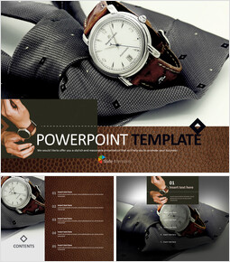 Ties and Clocks - Free Design Template_00