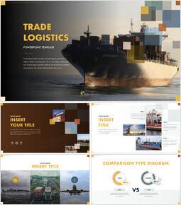 Trade Logistics Keynote Presentation Template_40 slides