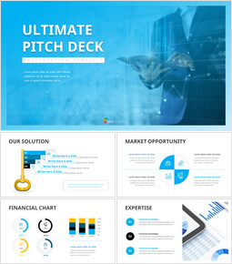 Ultimate Pitch Deck Semplici modelli di diapositive_00