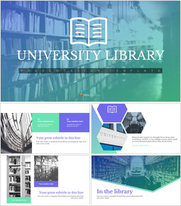 University library Google Slides Templates_00