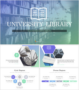 University library Keynote Design_00