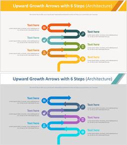 6 단계 다이어그램 (건축)를 가진 상향 성장 화살표_00