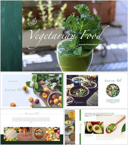 Vegetarian Food Keynote Presentation Template_40 slides