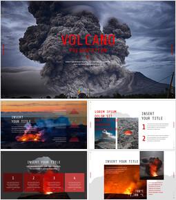 Volcano Simple Google Slides Templates_00