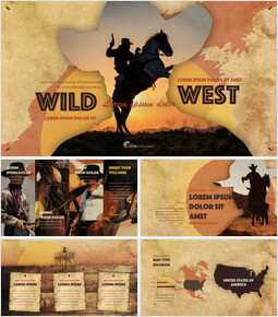 Wild West theme Keynote Design_00