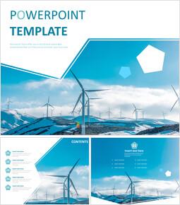 풍력 발전 시스템 - 무료 PPT 샘플_00