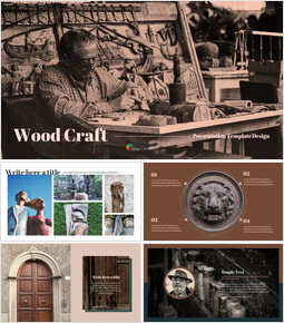 Wood Craft Google Presentation Slides_00