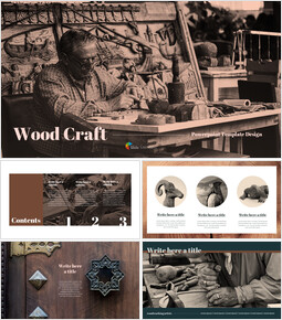 Wood Craft PowerPoint Templates_00