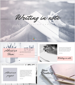 Writing in Note Simple Google Presentation_00