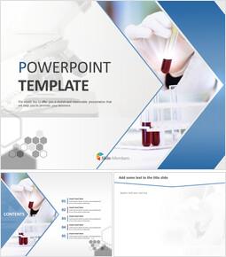 시약과 현미경 - 무료 구글 슬라이드 템플릿 디자인_00