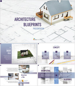 Architecture Blueprints PPT to Keynote_00