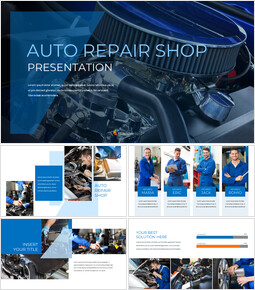 Auto Repair Shop Google Slides Themes for Presentations_00