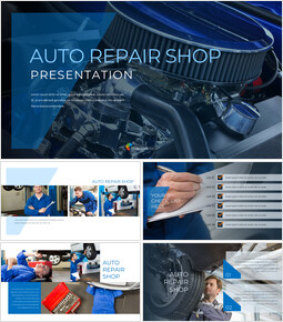 Auto Repair Shop PowerPoint Design Download_00