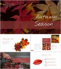 가을 시즌 Google 슬라이드 프레젠테이션 템플릿_00