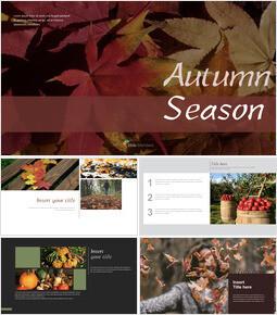 가을 시즌 키노트의 PPT_00