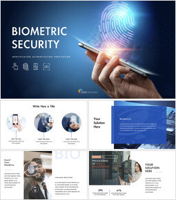 Sicurezza biometrica Ultimate Keynote Template_41 slides