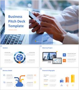 Business Pitch Deck Google PPT Templates_14 slides