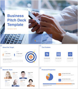 Business Pitch Deck Microsoft Keynote_14 slides