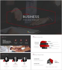 Piattaforma di presentazione aziendale Modelli PPT_00