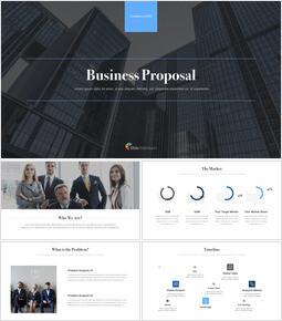 Business Proposal Pitch Deck Creative Keynote_16 slides