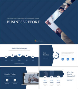 Business Report Easy Slides Design_00