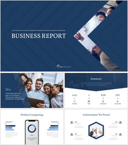 Business Report premium PowerPoint Templates_00