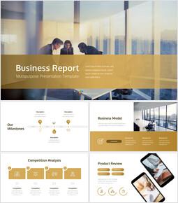 사업 보고서 심플한 구글슬라이드_00