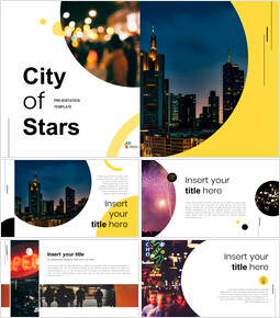 City of Stars Google Slides Template Diagrams Design_00